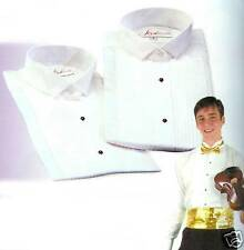 NEW Pleated Wing Tip Tuxedo Shirt, Men & Women 20 Sizes