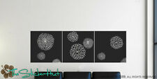 Carnation Flower Panels Wall Decor Decals Stickers 714