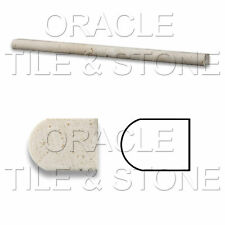½ X 12 Ivory Travertine Pencil Liner Trim Molding