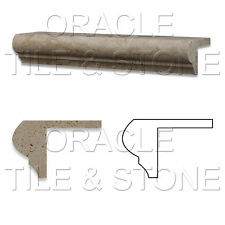 Ivory Travertine Corner - Ogee Stair Tread Trim Liner
