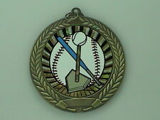 "2-3/4"" SUN T Ball Tee Ball Medal w/Ribbon Any Qty Ships Flat Rate $5.49 in USA"