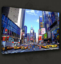 NEW YORK CITY TIMES SQUARE CANVAS PRINT POP ART MANY SIZES TO CHOOSE FROM