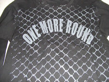 OMR ONE MORE ROUND CAGE THERMAL LONG SLEEVE SHIRT BJJ FIGHT MMA VALE TUDO M-XL