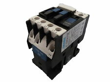 CHANA CC1-09 Contactor range 4KW 9A AC3 3 pole plus open or closed Auxiliary