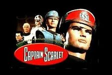 Gerry Anderson's Captain Scarlet EMBOSSED Spectrum Officers trading cards [ltd]