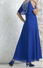 Mother of Bride Groom Wedding party evening dress gown plus size XL 1X 2X 3X 4X
