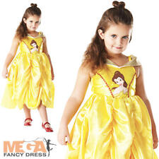 Belle Classic Disney Princess Beauty & The Beast Fancy Dress Girls Child Costume