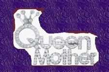 QUEEN MOTHER PRINCESS Pin Brooch Pageant Girl Mom Crown Prom Bridal Kids Jewelry