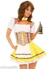 NEW SEXY OKTOBERFEST BEER BAR MAID BAVARIAN MAIDEN COSTUME SELECT SIZE  L XL