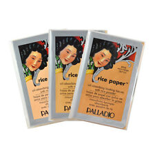 Palladio Rice Paper Oil-absorbing blotting tissues with Rice Powder 40 sheets