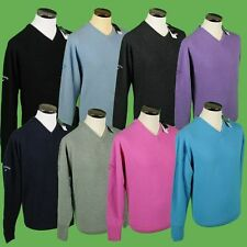 Callaway Golf V-Neck Lambswool Sweaters/Jumpers All Colours/Sizes New 2012