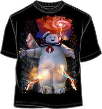 T-Shirt Tee GHOST BUSTER NEW Mass-Hysteria (Men/Adult) Black Licensed gb116ms