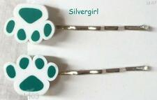 Pretty Bobbie Pins Little Girls Colorful Pet Paws