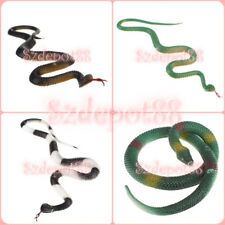 Soft Plastic or Rubber Vivid Looks Pretend Snake Toy Jump Trick Prop Party Favor