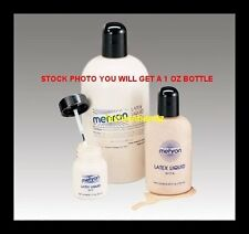 Mehron Liquid Latex Costume Special Effects Make Up 1 OZ  117