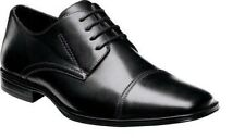 Stacy Adams Men's Montgomery Lace Up Leather Oxford Dress Shoes Black 24760