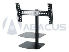 Tilt /Swivel Wall Mount for 32 - 55 inch LED LCD Plasma 3D HDTV w/ 2 AV Shelves