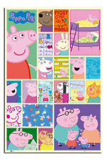 Peppa Pig Childrens Large 24 x 36 Inch Wall Poster New - Laminated Available