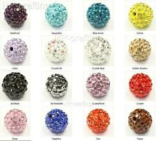 Swarovski crystal disco ball charm spacer beads 10mm-U pick colors and Quantity