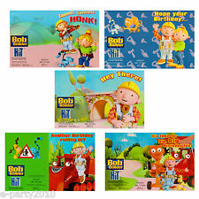 BOB THE BUILDER BIRTHDAY GREETING gift CARD SELECTION ~ Party Supplies