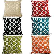 Retro Modern Chenille Cushions - 2 Sizes - Small Large - Scatter Cushion Covers