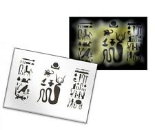 Step by Step Airbrush Stencil AS-148 ~ Template ~ UMR-Design