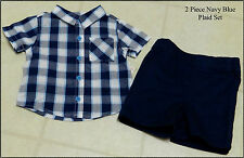 Infant Boys 2 Piece Pant or Short Outfit