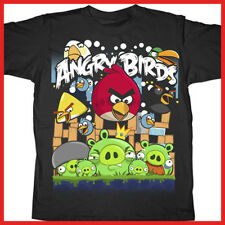 Angry Birds Kids T Shirt: Angriest Attack Pig-Licensed