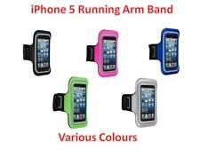 SPORT RUNNING GYM EXERCISE SOFT ARMBAND STRAP COVER CASE FOR APPLE IPHONE 5 UK