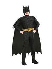 Child Batman Dark Knight Rises Muscle Chest Deluxe Kids Boys Fancy Dress Costume