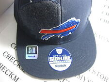 NWT NEW BUFFALO BILLS NFL HATS CAPS REEBOK SIDELINE GREAT DESIGN SZ SMALL-MEDIUM