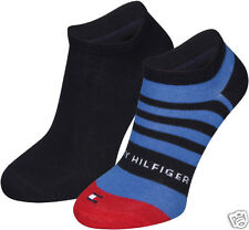 TOMMY HILFIGER 2 Pack Kinder Nautical Sneaker Socken Socks 27/30 31/34