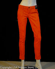 Hollister by Abercrombie Women's Jeans Legging Tied-Dyed Orange NWT
