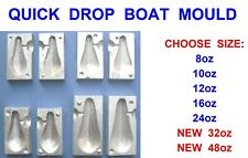 QUICK DROP LEAD WEIGHT MOULD FOR GAME SEA FISHING UPTIDE BOAT ROD COD RIGS LURES