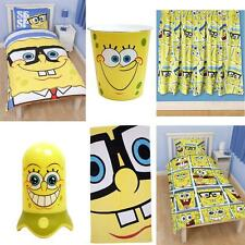 SPONGEBOB SQUAREPANTS BEDROOM ACCESSORIES BEDDING & FURNITURE NEW