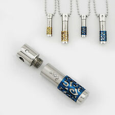 New Fashion Pendant Chain necklace for Emergency powder medicine Men's or women