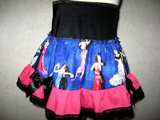 NEW Black,pink,blue vintage dance lace frilly lolita,punk,retro skirt,All sizes