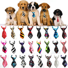 LOT 5pcs - 100pcs Dog Cat Teddy Pet Puppy Toy Grooming Bow Tie Necktie Clothes