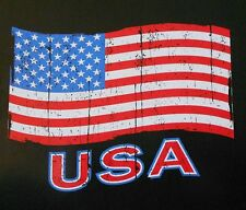 USA UNITED STATES OF AMERICA AMERICAN OLD GLORY PATRIOTIC FLAG T-SHIRT XT89