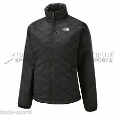 THE NORTH FACE LADIES THERMAL JACKET QUILTED BLACK SIZE 8 10 12 14 COAT WOMENS