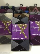 plus size QUEEN jacquard ARGYLE tights choose color xl 1x 2x 3x up to 230lbs