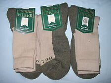 GENTS QUALITY MERINO WOOL ACTIVE HIKING WALKING SOCK MADE IN ENGLAND 3 PAIR 7-11