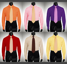 Stacy Adams Dress Shirt All Sizes 6 Colors French Cuff Cutaway Collar $45