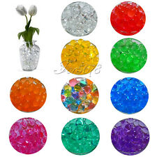 20 Bag Magic Crystal Soil Water Beads Ball For Flower Planting Vase Decor Filler