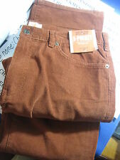 NWT $58 Dockers Men's 5-POCKET STRAIGHT FIT CORDUROY PANT BURNT RED MULTI SIZES