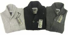 mens fly guy cardigans available in black/dark grey and light grey mk dopey