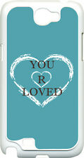 Variety of Different Colors YOU ARE LOVED on Samsung Galaxy Note II 2 Hard Case