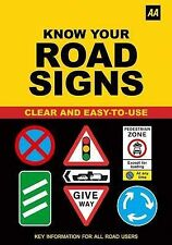 Know Your Road Signs (AA),GOOD Book