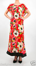 Tolani Women's Kendall Caftan Maxi Dress in Red Floral 8305