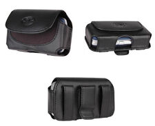 Clip Cover Leather Case Pouch w Belt Loops Clip - See the List inside !